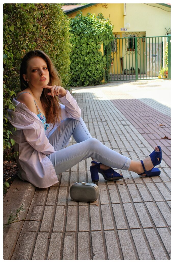 outfit camisa blanca